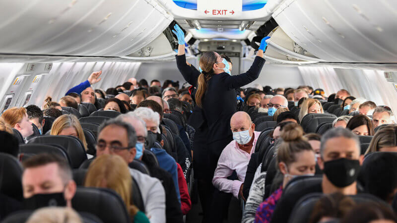 E195: This Airline Has Morphed into a Bunch of Mask Nazis